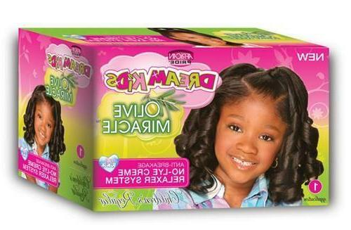 dream kids olive miracle relaxer kit