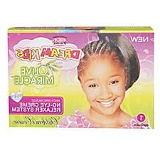 African Pride Dream Kids Olive Miracle Relaxer Kit Coarse