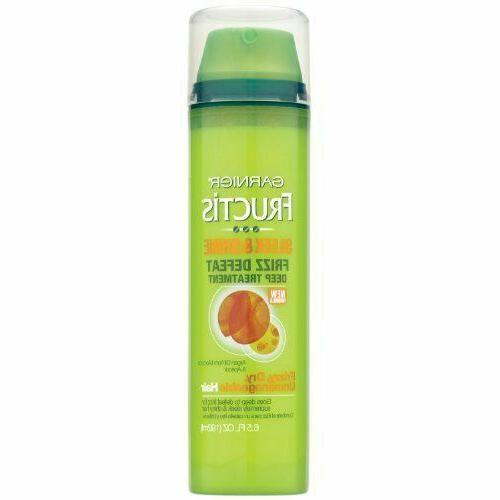 Garnier Fructis Sleek & Shine Frizz Defeat Deep Treatment 6.