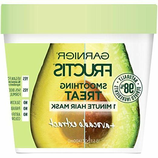 Garnier Fructis Smoothing 1-Minute Hair Mask oz