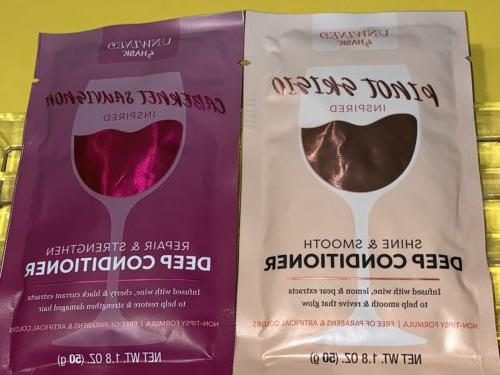 hask deep conditioner packettes duo cabernet sauvignon