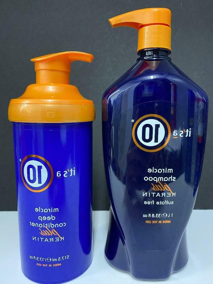 it s its a 10 miracle shampoo
