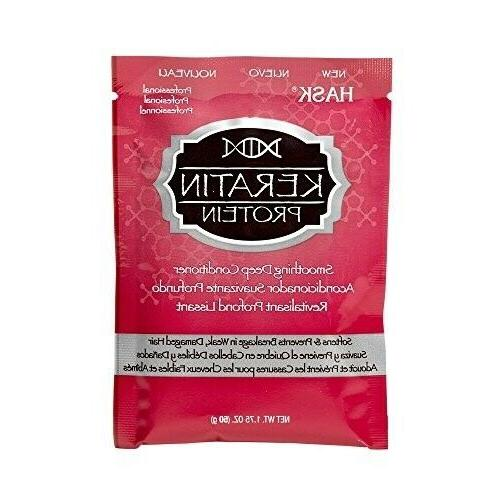 keratin protein smoothing deep conditioning treatment packet