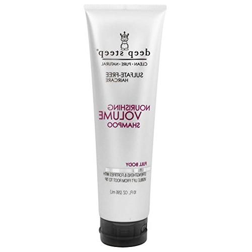 Deep Shampoo and Nourishing Volume Conditioner With Milk Extract and Marine Full Body, 10 fl oz