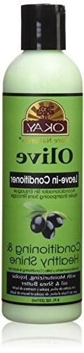 OKAY Olive Oil Leave In Conditioner, 8 Fluid Ounce