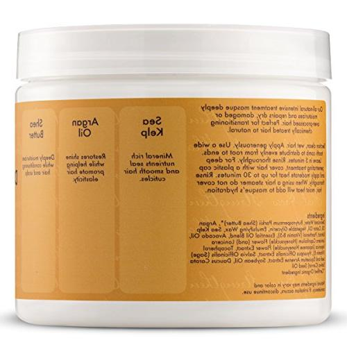 Shea Raw Shea Butter Powerful Duo, Deep Treatment Fl Jamaican Strengthen Grow Conditioner, Ounce