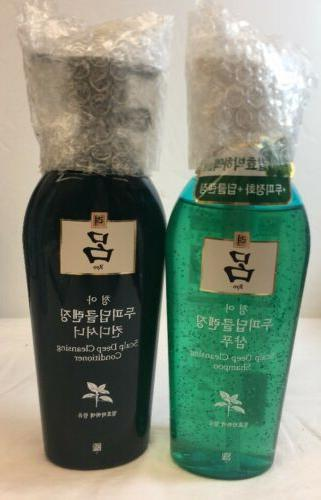 ryo scalp deep cleansing shampoo and conditioner