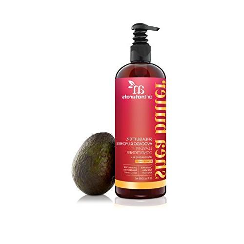 ArtNaturals Conditioner - Butter, Lychee – and Damaged – Moisturizing Types of Hair Sulfate