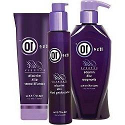 It's a 10 Silk Express Shampoo, Conditioner, Smoothing Balm