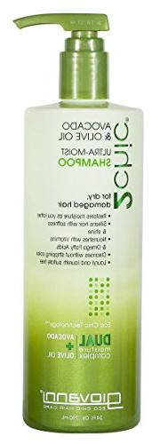 GIOVANNI COSMETICS - Ultra-Moist Shampoo With Avocado And Ol