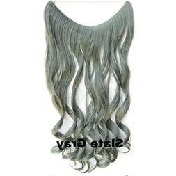 Kervinkervin 60cm 150g Long Curly Hair Clip In Extension One