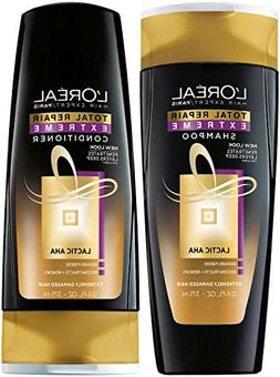 L'Oreal Total Repair Extreme Shampoo and Conditioner 12.6 O