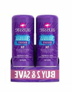 Lot of 2 Aussie Moist 3 Minute Miracle Deep Conditioner 8 oz