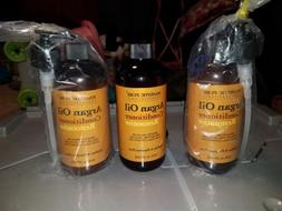 Lot of 3 Moroccan Argan Oil Hair Conditioners From Majestic
