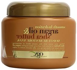 OGX Moisture Restore Mask, Smooth Hydration Argan Oil & Shea