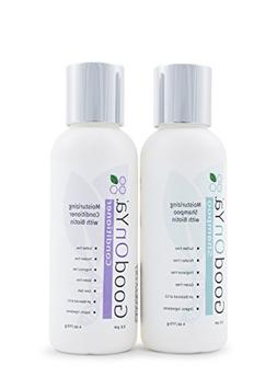 Moisturizing Shampoo and Conditioner Set with Biotin by Good