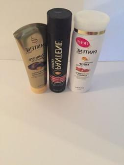 New! Pantene Lot of 3 Shampoo&Conditioner Color Care&Deep Co