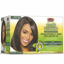 African Pride Olive Miracle Conditioning Anti-Breakage No Ly