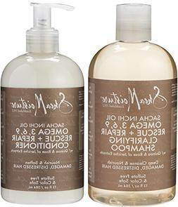 Shea Moisture Sacha Inchi Oil Duo Pack, Omega 3, 6, 9 Rescue