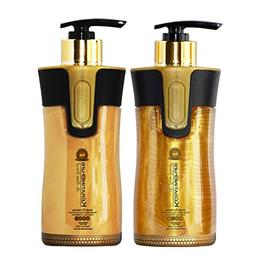 Keratin Cure Gold & Honey 2 Piece Hair Care Sulfate Free Sha