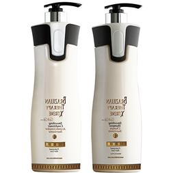 Keratin Cure-Color & Keratin Safe -SULFATE FREE- Shampoo and