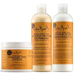 SheaMoisture Raw Shea Butter Moisture Retention Combination