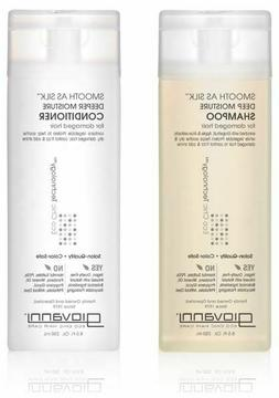 Giovanni Smooth as Silk Shampoo, Packaging May Vary, 8.5-Oun