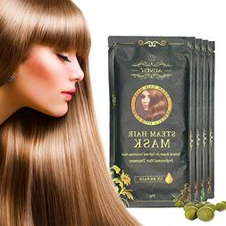 Steam Hair Mask,Luxury Hair Cap for Deep Conditioning,Natura
