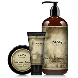 WenHairCare Sweet Almond Mint Healthy Hair Kit, Includes: Co