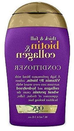 OGX Thick & Full + Biotin & Collagen Conditioner 3 oz Small
