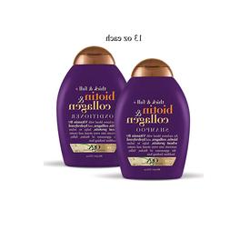 OGX Thick & Full Biotin & Collagen Shampoo / Conditioner 13