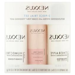 Nexxus 3 Piece Trial Set for Normal to Dry Hair 3 oz & 1.5 o