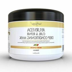 UNVEILMYNATURAL AYURVEDA CURL & REPAIR DEEP CONDITIONER MASK
