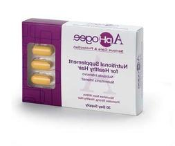 ApHogee Vitamin Supplement for Healthy Hair 30 Tablets by Ap