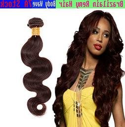 eCowboy BODY WAVE Indian Human Hair 6A Bundle Hair Weave Ext